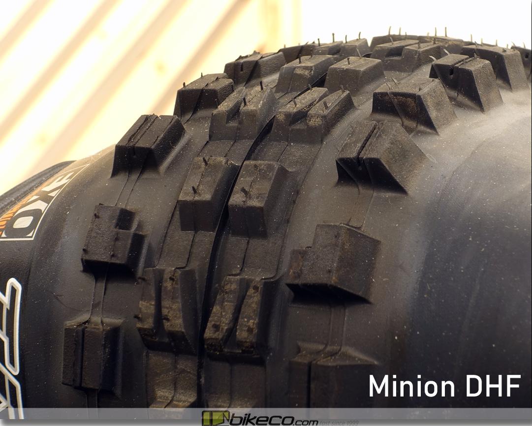 Maxxis Minion DHF MTB Tire Profile