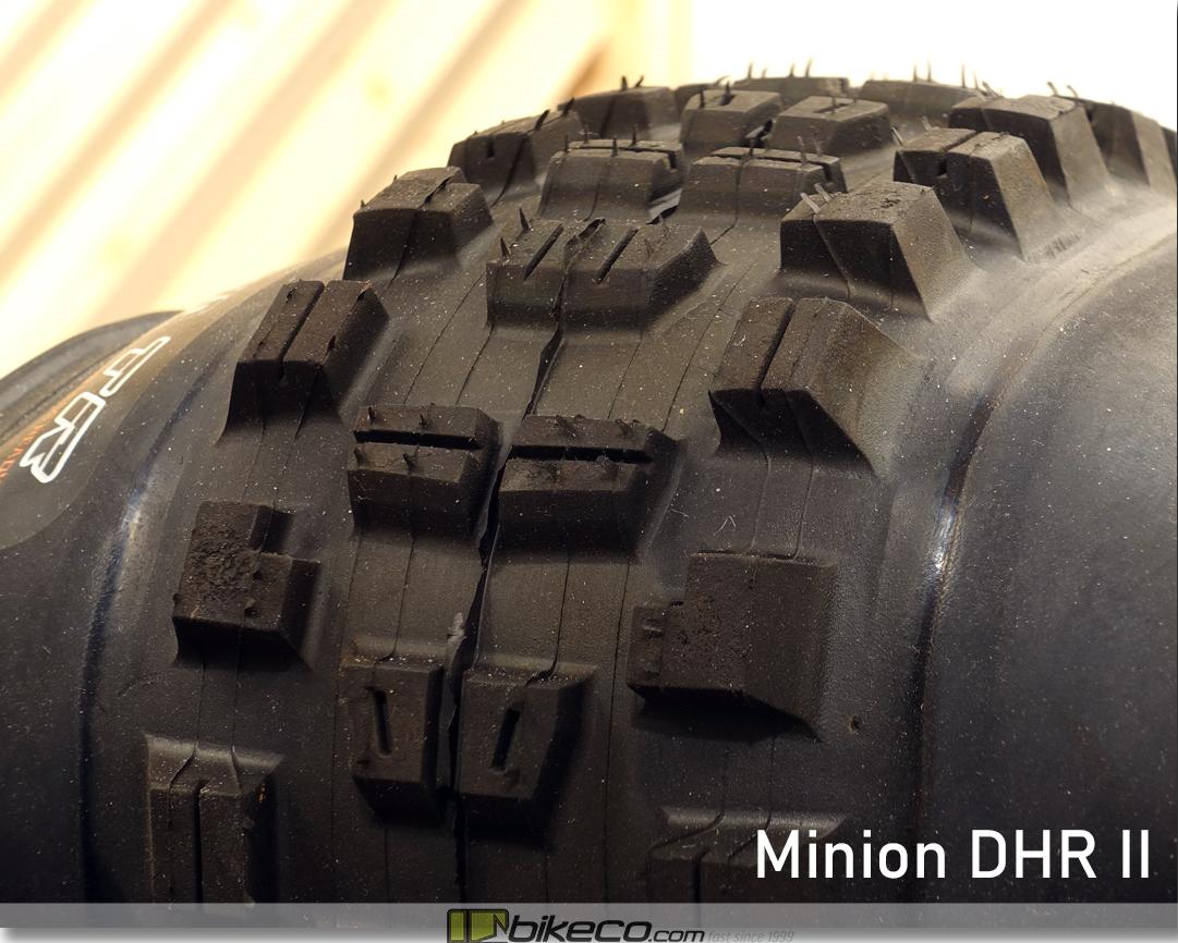 Maxxis Minion DHR II MTB Tire Profile