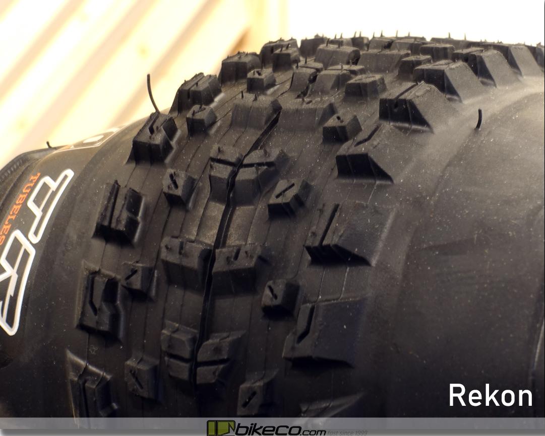 Maxxis Rekon MTB Tire Profile