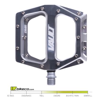 DMR Vault Pedals Full Silver Color
