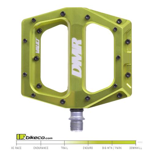 DMR Vault Pedals Lem Lime Color