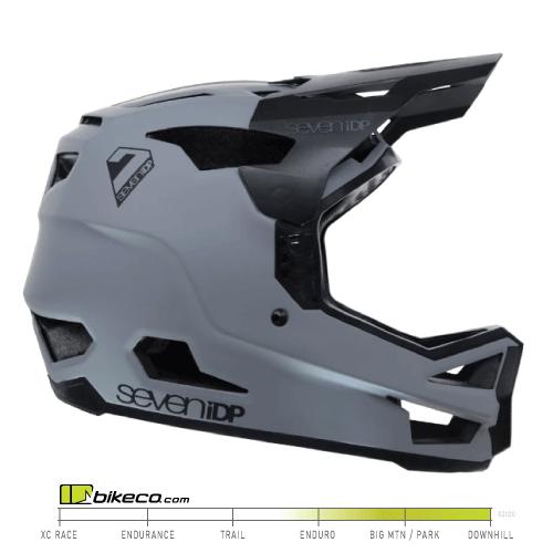 7iDP Project 23 Helmet Fiberglass Grey & Black