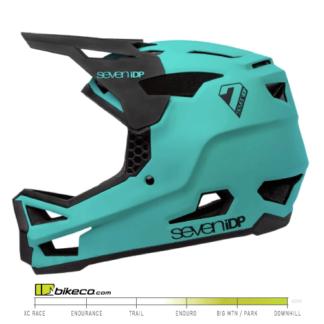 7iDP Project 23 Helmet Fiberglass in Teal & Black