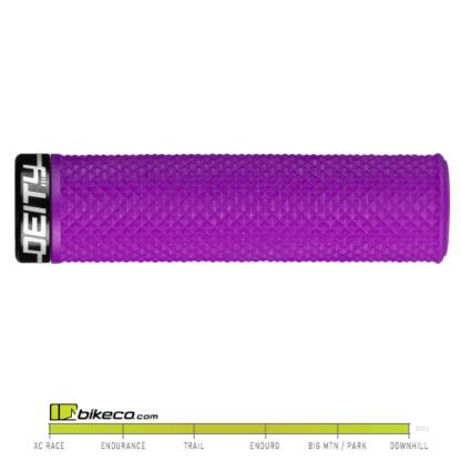 Deity Supracush Grips in Purple