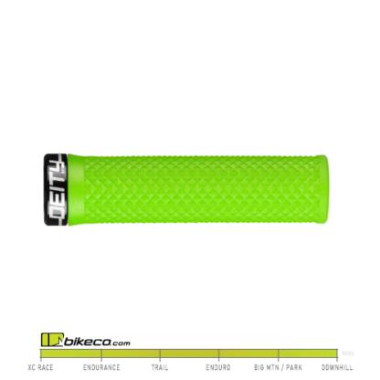 Deity Lockjaw Grips in Green