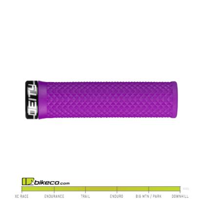 Deity Lockjaw Grips in Purple