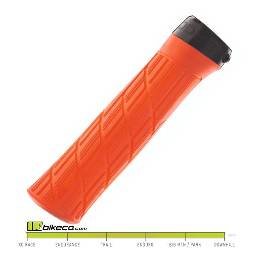 Ergon GE1 Evo Factory Grips in Frozen Orange