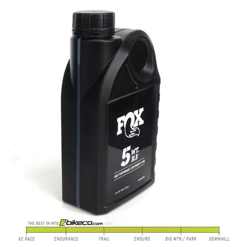 FOX 5 wt R3 Oil 32oz Bottle