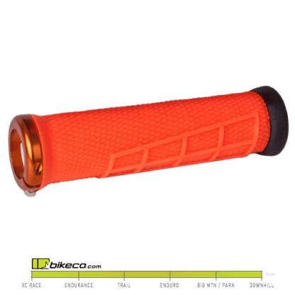 ODI Elite Flow Grips in Orange