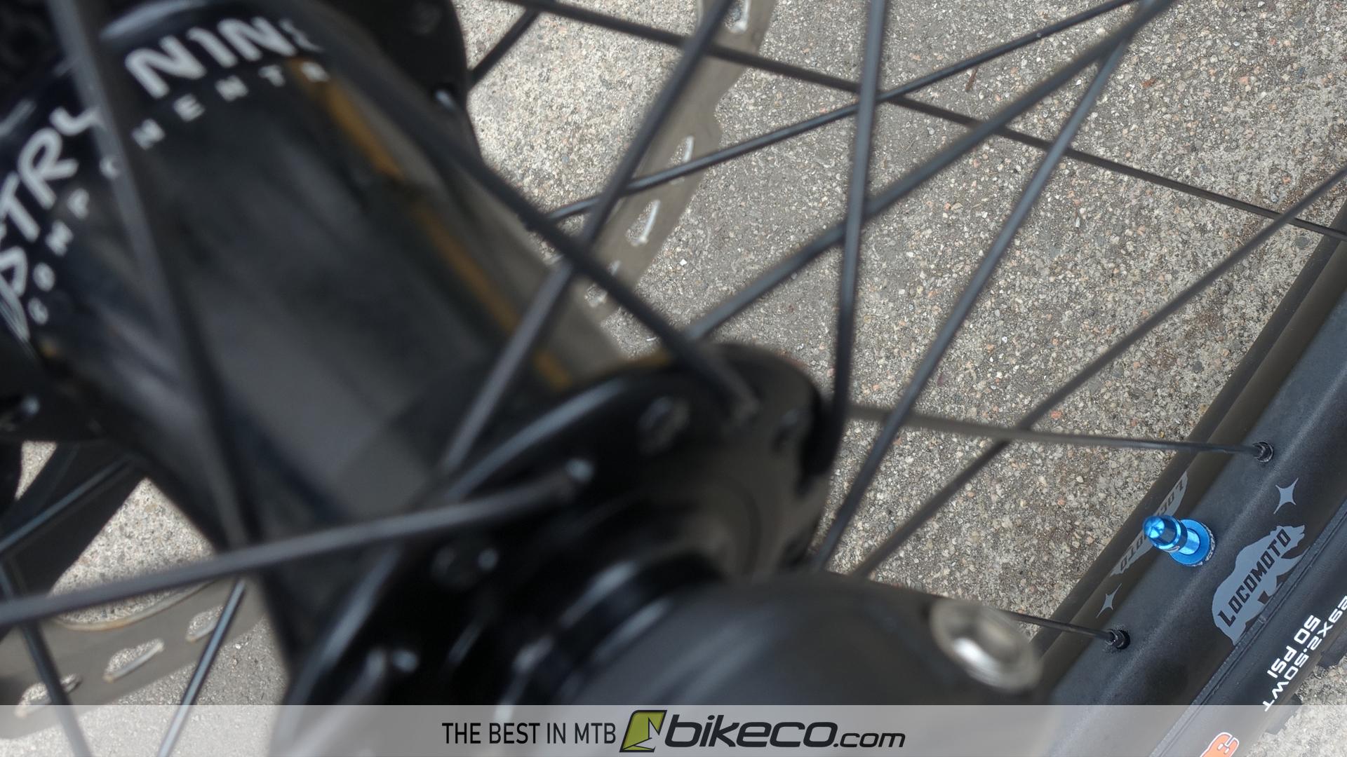 Industry Nine Hubs on RideFast LocoMoto rims