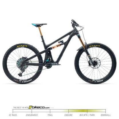 Yeti SB165 T2 Build in Raw Carbon