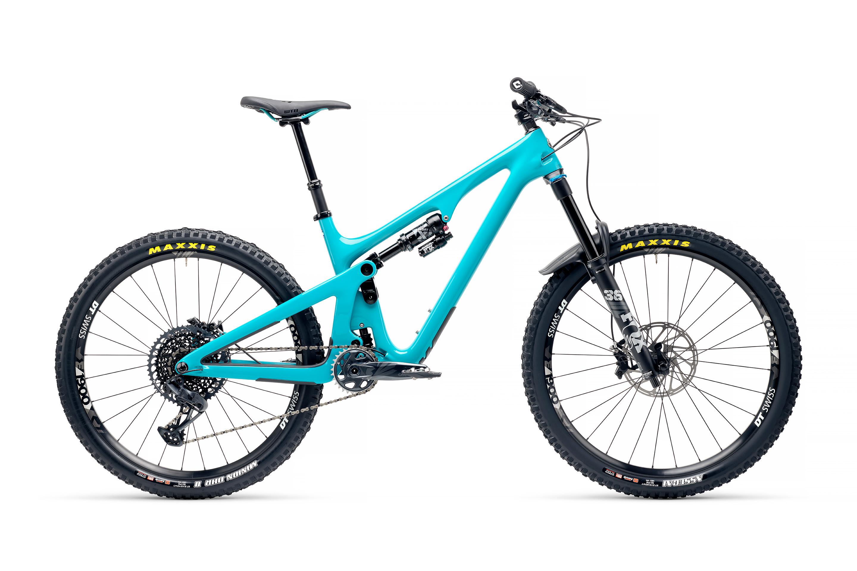 Yeti SB140 CLR C2 Build in Turquoise