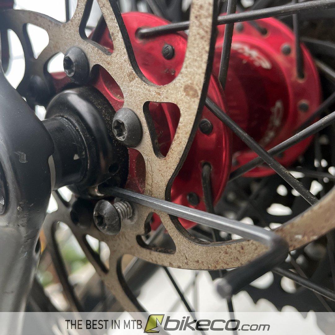 Allen Wrench Tip Adjusting King Hubs loosen Brake Bolt