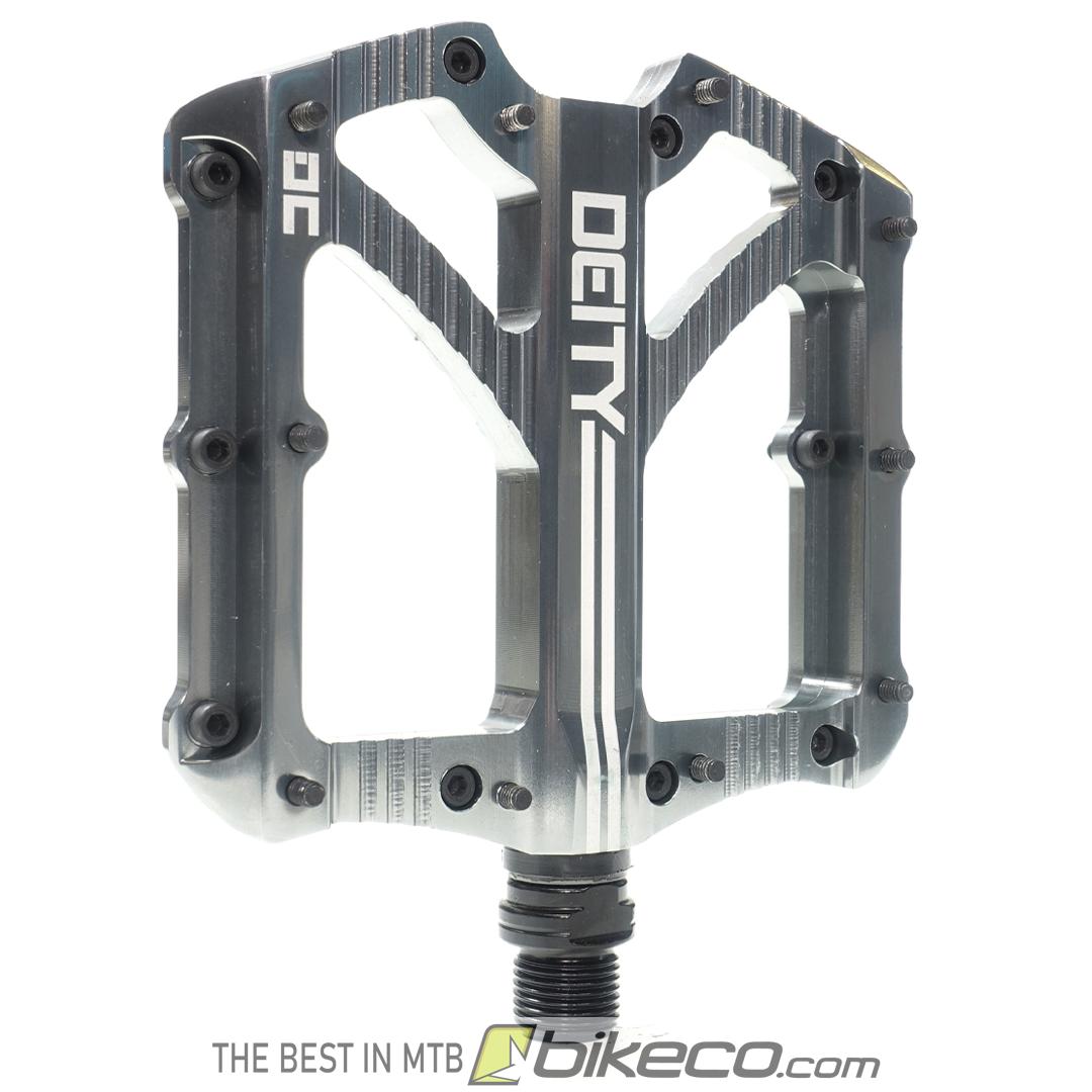 Platinum Silver Deity Bladerunner Pedals