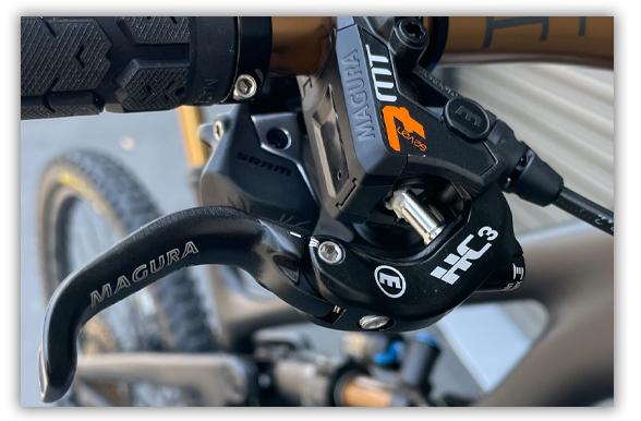 Magura MT7 Brakes with HC3 Lever