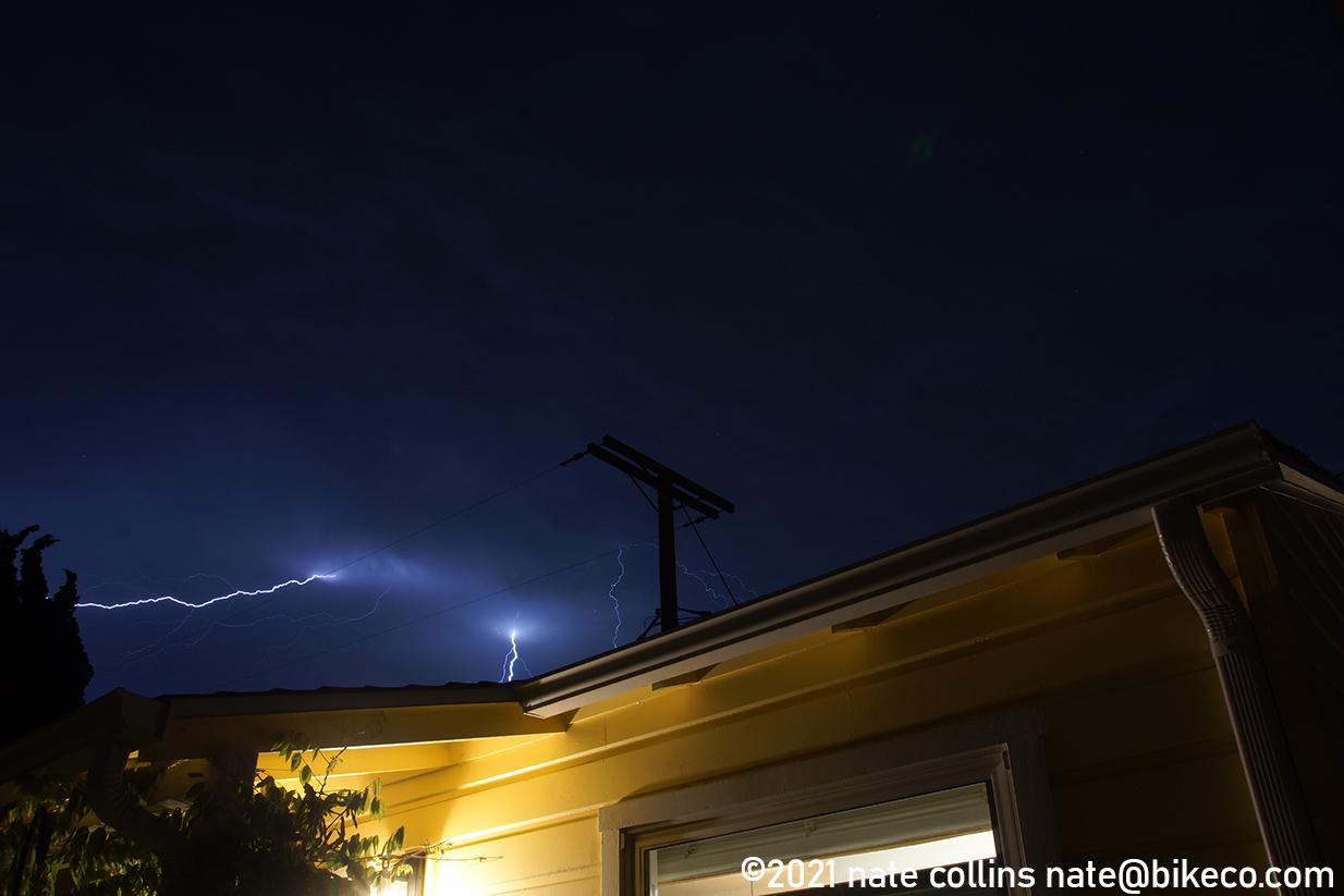 San Diego Lightning copyright 2021 Nate Collins