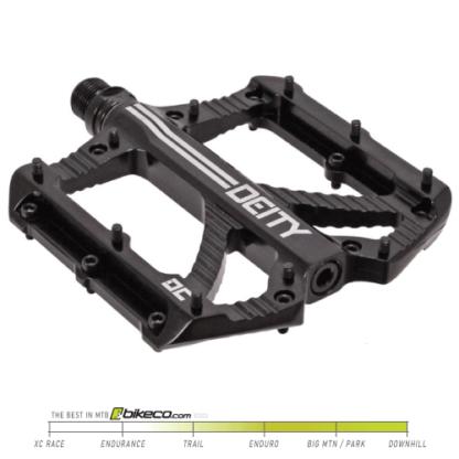 Deity Bladerunner Pedals in Black